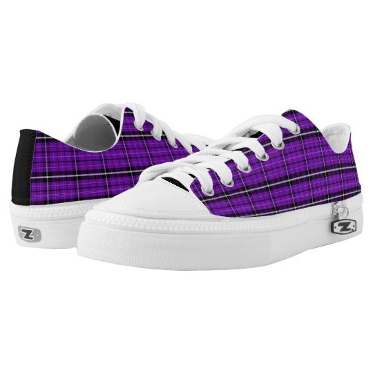 Bright Purple Low Top Sneakers
