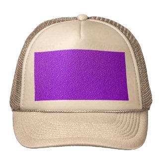 Bright Purple Neon Trendy Colors Trucker Hat