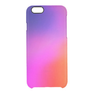 Bright Purple Pink And Orange Abstract Glow iPhone 6 Plus Case