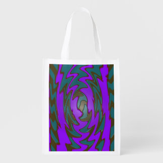 Bright purple teal abstract