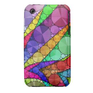 Bright Rainbow Bling Pattern iPhone 3 Cover