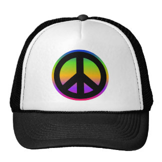 Bright Rainbow Cap