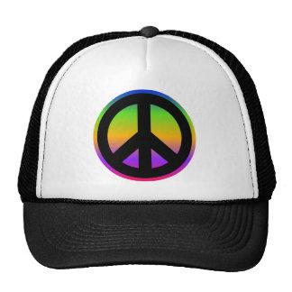 Bright Rainbow Trucker Hat