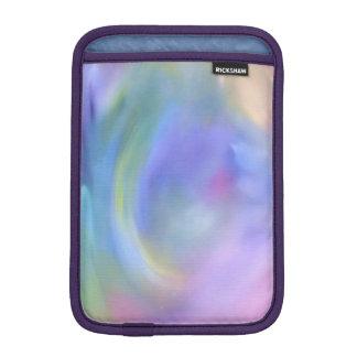 Bright Rainbow Colored Abstract, iPad Mini Sleeve
