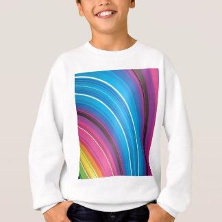 Bright rainbow falls sweatshirt