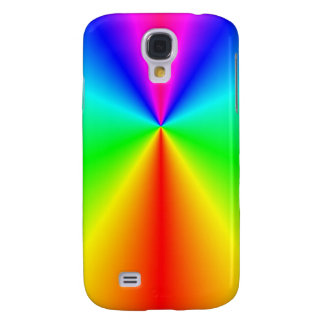 Bright rainbow galaxy s4 case