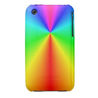 Bright rainbow iPhone 3 cases