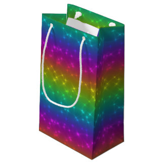 Bright Rainbow Sparkles Gift Bag