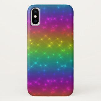 Bright Rainbow Sparkles Mobile Phone Case