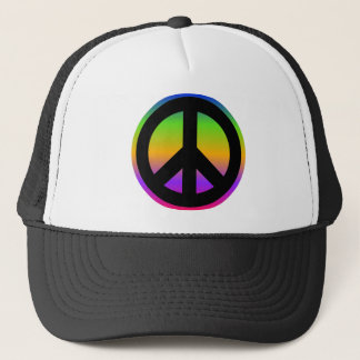 Bright Rainbow Trucker Hat