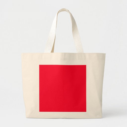 Bright Red Color Only Custom Design Products Bags