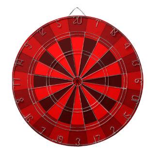 Bright Red Dart Board