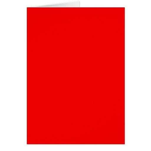 bright red DIY custom background template Cards