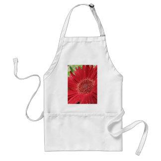 Bright Red Flower Standard Apron