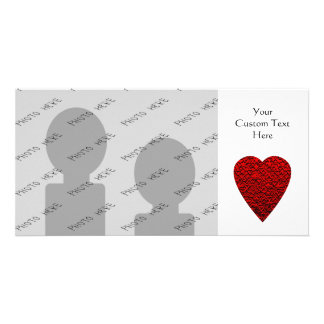 Bright Red Heart Picture. Photo Cards