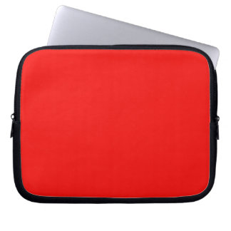Bright Red Laptop Sleeve