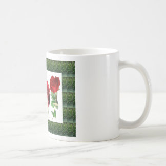Bright red means love : Gift for all Occassions Basic White Mug