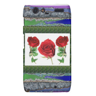 Bright red means love Gift for all Occassions Droid RAZR Covers