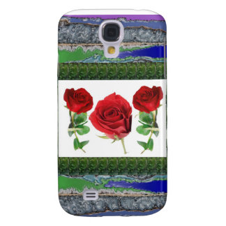 Bright red means love : Gift for all Occassions Samsung Galaxy S4 Case