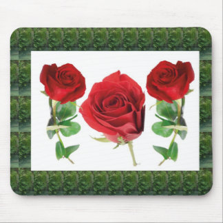 Bright red means love : Gift for all Occassions Mouse Pad