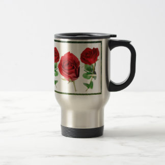 Bright red means love : Gift for all Occassions Stainless Steel Travel Mug