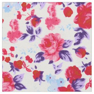 Bright purple fabric for Nebula fabric uk