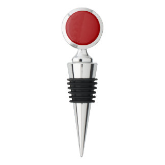 Bright Red Wine Stopper