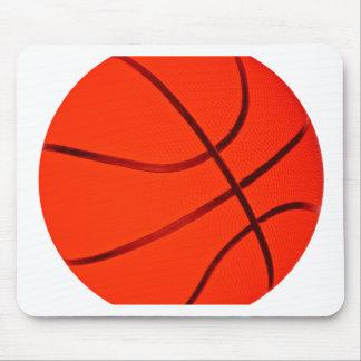 Bright Reddish Basketball Mouse Mat