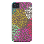 Bright Retro Floral Universal iPhone 4/4S Case Case-Mate iPhone 4 Cases