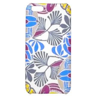 Bright Retro Flower Pattern iPhone 5C Cases