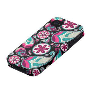 Bright Retro Paisley iPhone 4/4s Case