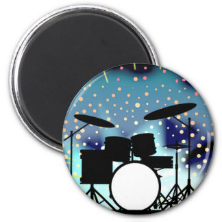 Bright Rock Band Stage 6 Cm Round Magnet