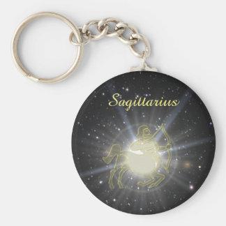 Bright Sagittarius Key Ring