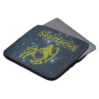 Bright Sagittarius Laptop Sleeve