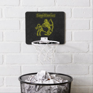 Bright Sagittarius Mini Basketball Hoop