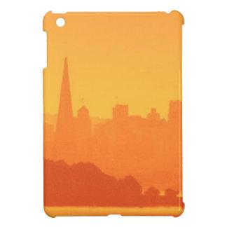 Bright San Francisco sunset. Case For The iPad Mini
