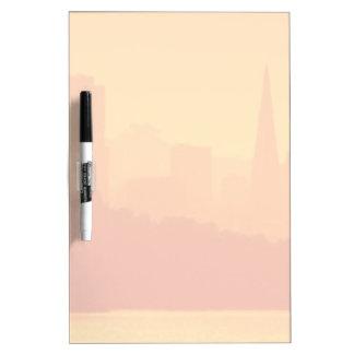 Bright San Francisco sunset. Dry-Erase Whiteboards