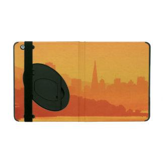 Bright San Francisco sunset. iPad Folio Case