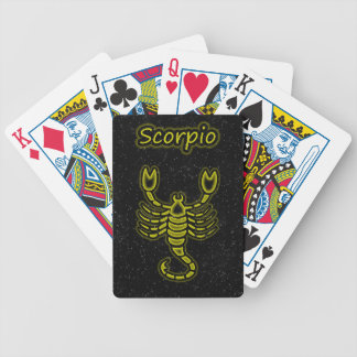 Bright Scorpio Bicycle Playing Cards