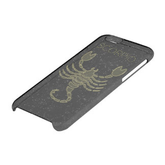 Bright Scorpio Clear iPhone 6/6S Case