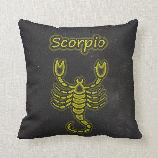 Bright Scorpio Cushion