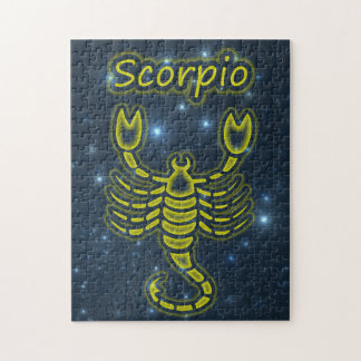Bright Scorpio Jigsaw Puzzle