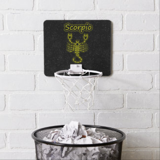 Bright Scorpio Mini Basketball Hoop
