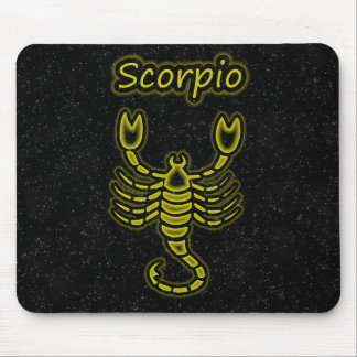 Bright Scorpio Mouse Pad