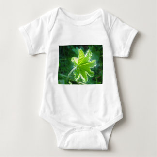 Bright sheet with water drops baby bodysuit