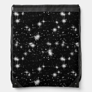 Bright Shining Stars In Space Drawstring Bag