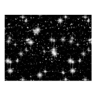 Bright Shining Stars In Space Postcard
