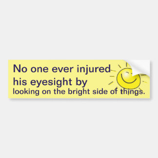 Bright side bumper stickers