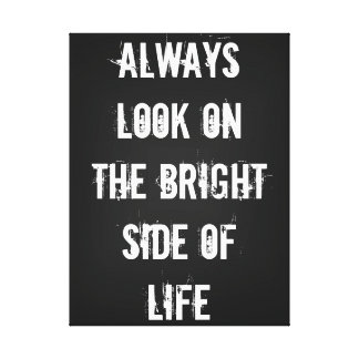 Bright Side of Life Canvas Print