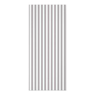 Bright Silver Thistle Cabana Stripe Pattern 10 Cm X 24 Cm Invitation Card